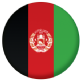 Afghanistan Country Flag 58mm Button Badge
